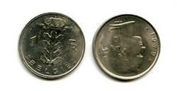 1 франк Бельгия