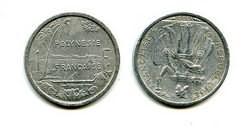 1 франк 2003 год Полинезия (французская)