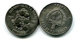 1 песо 1982 год (цитрусы) Куба