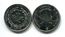 25 центов 2006 год (храбрость) Канада