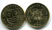 2 злотых 2005 год (Воеводство Швентокшишское) Польша