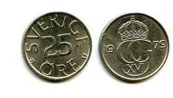 25 эре Швеция