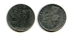100 лир Италия
