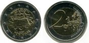 2 евро Римский договор Португалия 2007 год