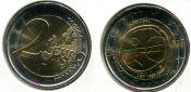 2 евро 10 лет евро Португалия 2009 год