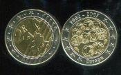 2 евро жетон Мальта 5 лет евро 2007 год