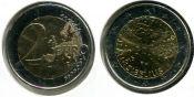2 евро Ян Сибелиус Финляндия 2015 год