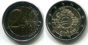 2 евро наличный Эстония 2012 год