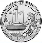 25 центов Мемориальный парк 47 парк США 2019 год
