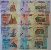 Набор банкнот Мадагаскара 2017 год