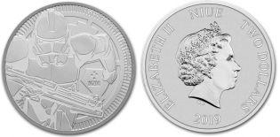 2 доллара Звездные войны Клоны Ниуэ 2019 год
