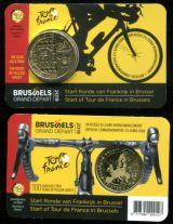 2 1/2 евро Велогонки Тур де Франс Бельгия 2019 год