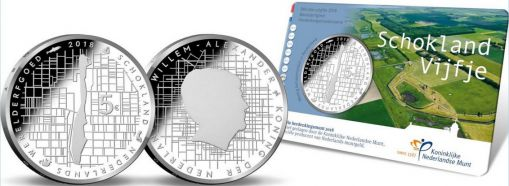 5 евро карта Схокланд Нидерланды 2018 год