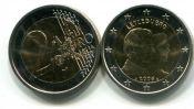 2 евро Гийом Люксембург 2006 год