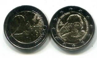 2 евро Манолис Андроникос Греция 2019 год