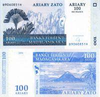 100 ариари Мадагаскар 2004 год