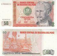 50 инти Николас де Пьерола Перу 1987 год