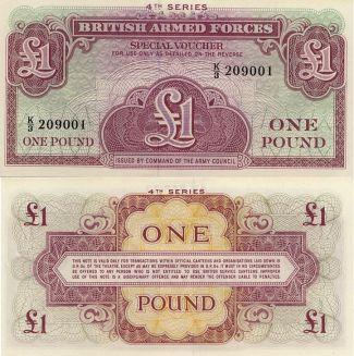 1 фунт Великобритания 1962 год