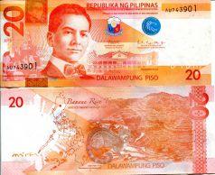 20 песо Мануэль Кесон Филиппины 2019 год