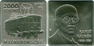 2000 форинтов Кальман Кандо Венгрия 2019 год