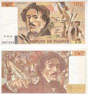 100 франков Эжен Делакруа Франция