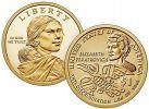 1 доллар Индианка Элизабет Ператрович США 2020 год, Сакагавея
