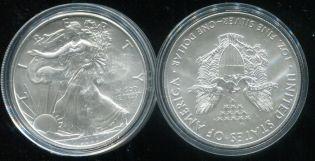 1 доллар Шагающая Свобода США 2020 год