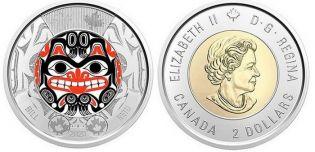 2 доллара Билл Рид Канада 2020 год