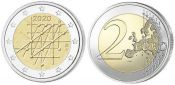 2 евро Университет Турку Финляндия 2020 год