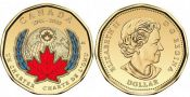 1 доллар 75 лет ООН Канада 2020 год