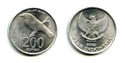 200 рупий 2003 год Индонезия