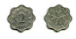 2 милса 1972 год Мальта
