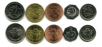 Набор монет Ливана