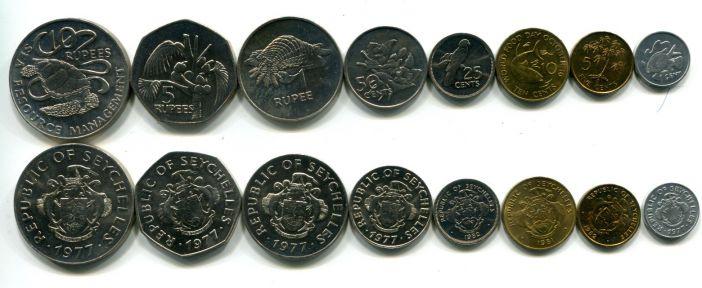 Набор монет Сейшел