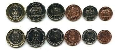 Набор монет Ямайки
