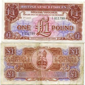 1 фунт Великобритания