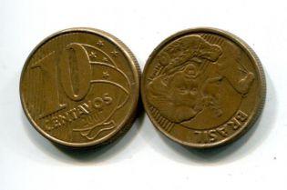 10 сентаво Бразилия