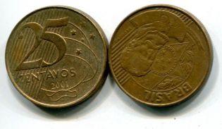 25 сентаво Бразилия