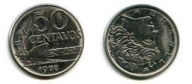 50 сентаво 1979 год Бразилия