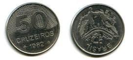 50 крузейро 1982 год Бразилия