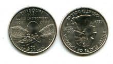 25 центов (квотер) 2003 год (Миссури) США