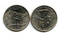 25 центов (квотер) 2006 год (Колорадо) США