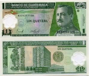 1 кетцаль 2006 год Гватемала