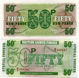 50 новых пенсов Великобритания