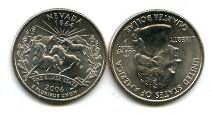 25 центов (квотер) 2006 год (Невада) США