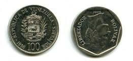 100 боливар 1998 год Венесуэла
