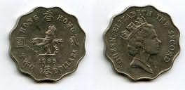 1 доллар 1985 год Гон-Конг