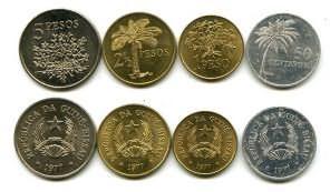 Набор монет Гвинеи-Биссау