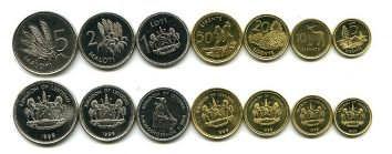 Набор монет Лесото