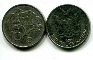 10 центов 1996 год Намибия